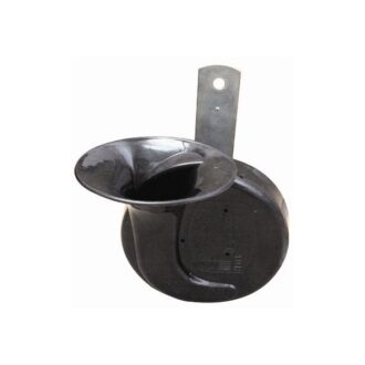 Shell Horn – Black – Low Note – 2-Pin