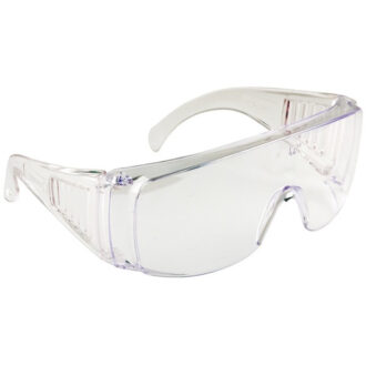 Safety Spectacles – Clear Frame – Clear Lens