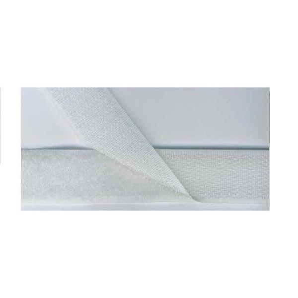 Velcro Hook & Loop 20 x 90mm White