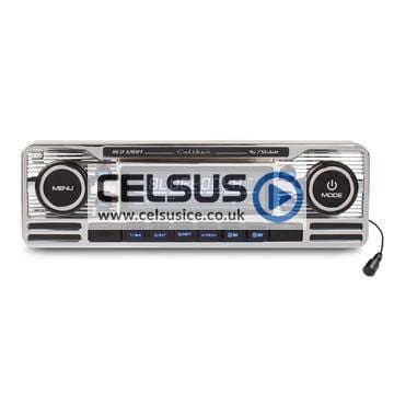 Caliber CD Player with FM Tuner, USB/SD Reader, AUX-Input & Bluetooth Technology