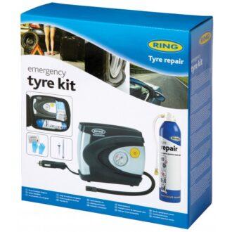 Emergency Tyre Compressor & Sealant Kit