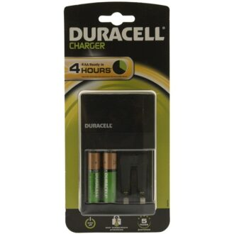 Plug-in Battery Charger with 2x AA Batteries
