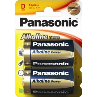 Alkaline Power D Batteries – Pack of 2