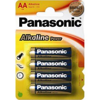 Alkaline Power AA Batteries – Pack of 4