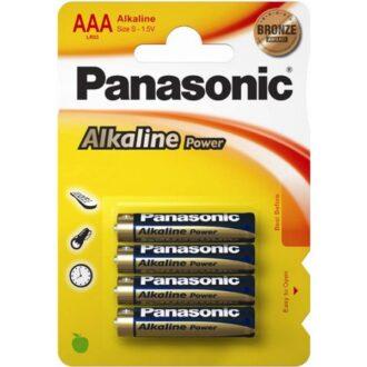 Alkaline Power AAA Batteries – Pack of 4