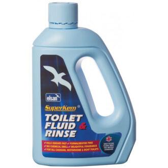 Superkem Advanced Toilet Fluid & Rinse – 2 litre