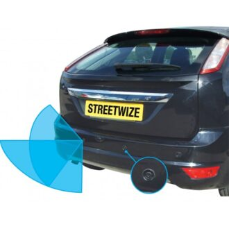 Reverse Parking System with Audio Warning & LED Display