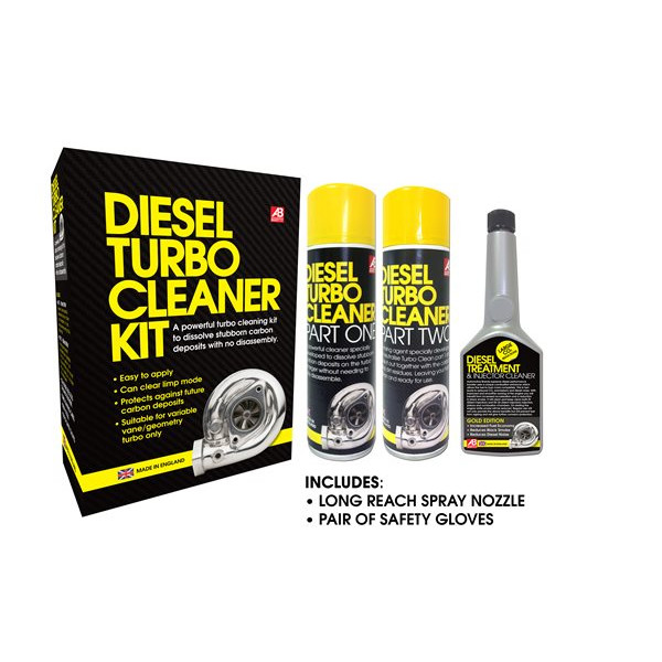 Power Maxed Diesel Turbo Cleaning Kit – 5 Piece