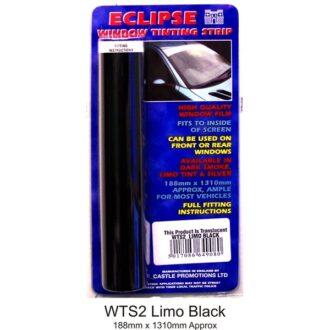 Window Tint Strip – Limo Black