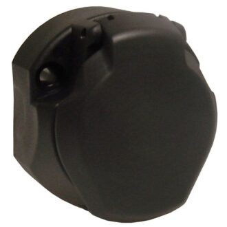 MAYPOLE 12V 13 PIN PLASTIC SOCKET & SEAL