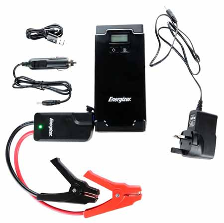 ENERGIZER LI-PO LCD DISPLAY CAR JUMP STARTER