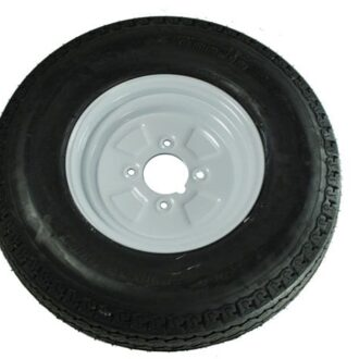 MAYPOLE TRAILER WHEEL AND TYRE 500MM X 10INCH
