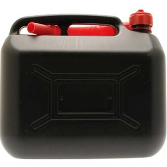 COSMOS 10L BLACK PLASTIC FUEL CAN