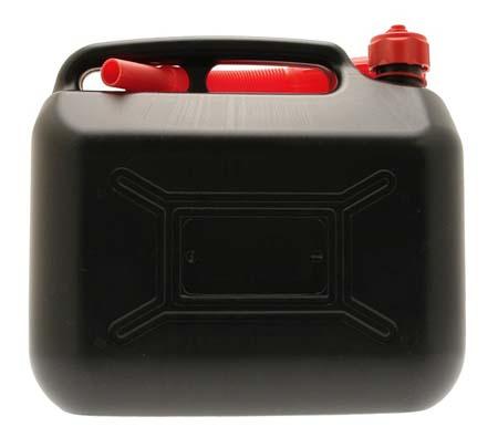 COSMOS 10L BLACK PLASTIC FUEL CAN
