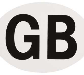 AA GB BADGE – SELF ADHESIVE
