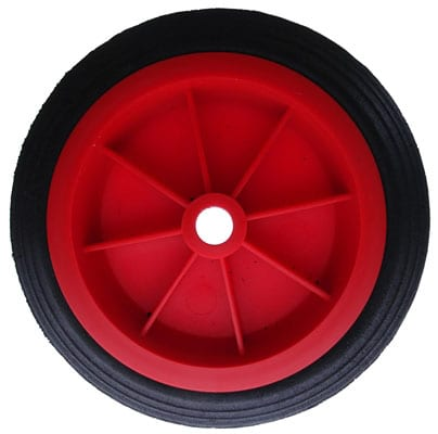 MAYPOLE 150MM RED SOLID WHEEL FOR MP431/432