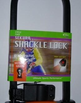 BICYCLE SHACKLE LOCK 180MM X 320MM