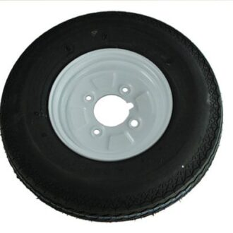 MAYPOLE TRAILER WHEEL AND TYRE 400X8 INCH