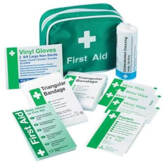 1 PERSON TRAVEL FIRST AID KIT NYLON