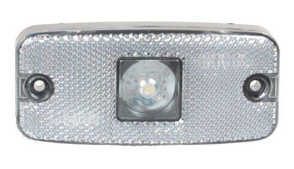 MAYPOLE 10-30V CLEAR LED FRONT MARKER