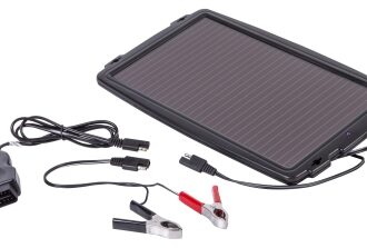 AA SOLAR PANEL CAR CARAV BATTERY CHARGER
