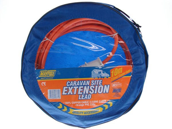 MAYPOLE 230V 10M SITE EXTENSION LEAD