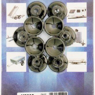 MAYPOLE 10 X PLASTIC TRAILER COVER