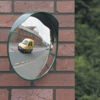 MAYPOLE CONVEX MIRROR 300MM