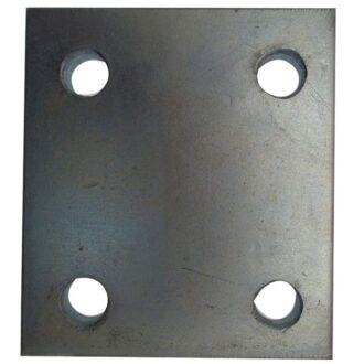 MAYPOLE 3 INCH DROP PLATE ZINC PLATED