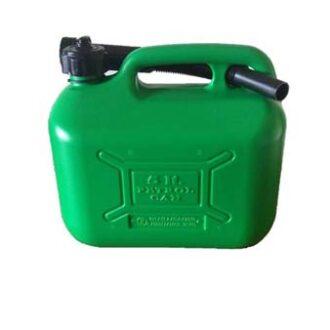 COSMOS 5L GREEN PLASTIC FUEL CAN