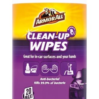 ARMORALL CLEAN UP WIPES (20)