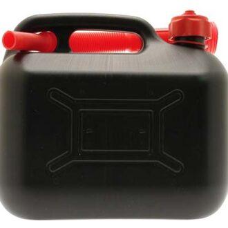 COSMOS 5L BLACK PLASTIC FUEL CAN