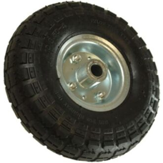 MAYPOLE 260MM PNEUMATIC STEEL WHEEL TYRE