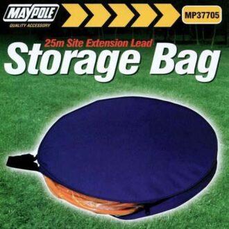 MAYPOLE 25M SITE LEAD STORAGE BAG
