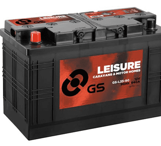 GS 90AH 640CCA 2YR LEISURE BATTERY